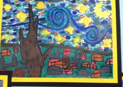 6NF- Van Gogh's Starry Night