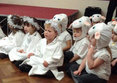 EYFS Christmas Nativity Dress Rehearsal