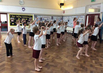 Year 3 Aboriginal dancing