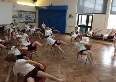 Year 4 dance linked to Van Gogh chairs