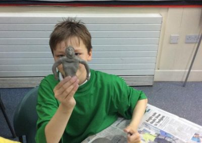 Year 6 Pottery